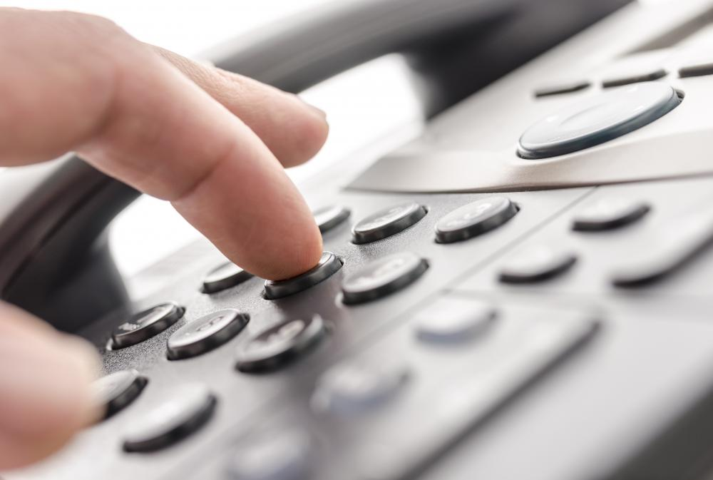 Phone dialing software performs mass telephone dialing without a person having to hand dial the numbers.