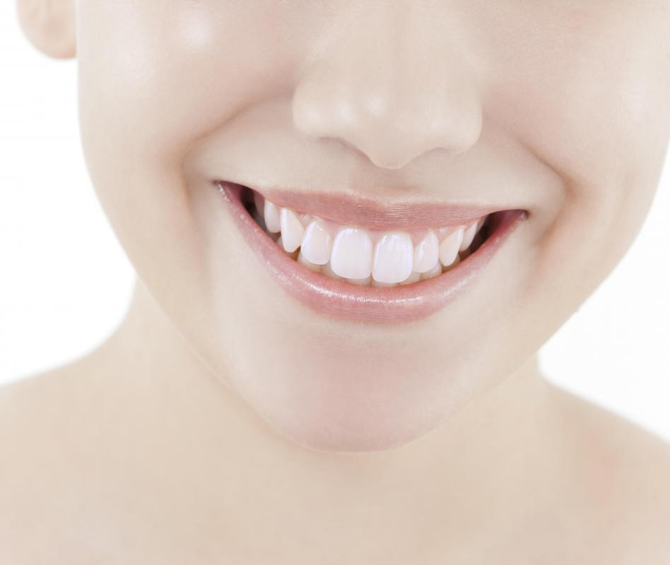 Threonine is required for healthy teeth.