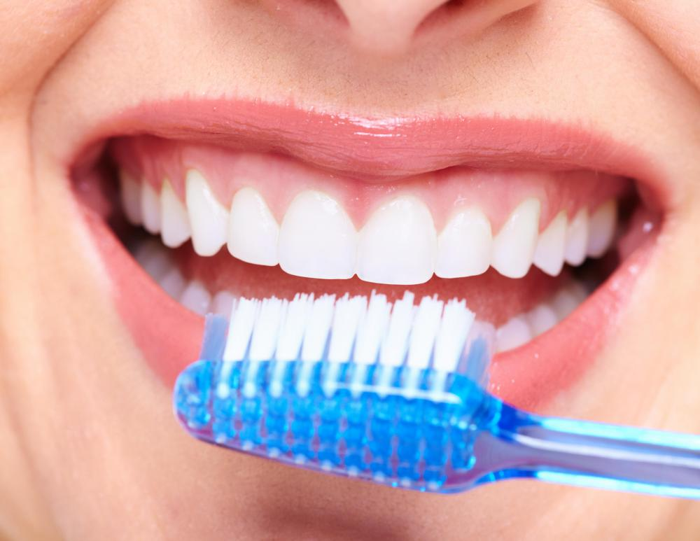 A dental therapist can give patients suggestions on good oral hygiene practices.