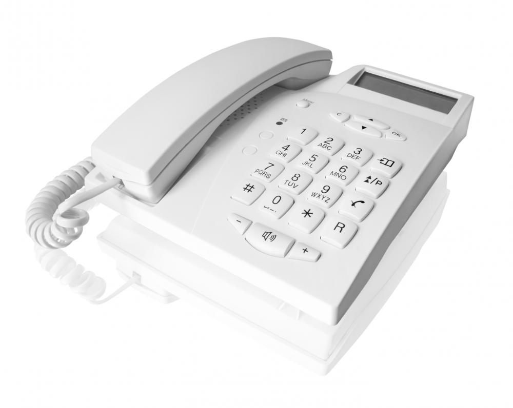 Answering machine services may be built into telephone devices.