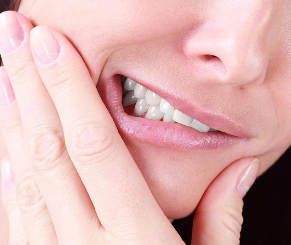 Jaw muscles can be sore as a result of bruxism.