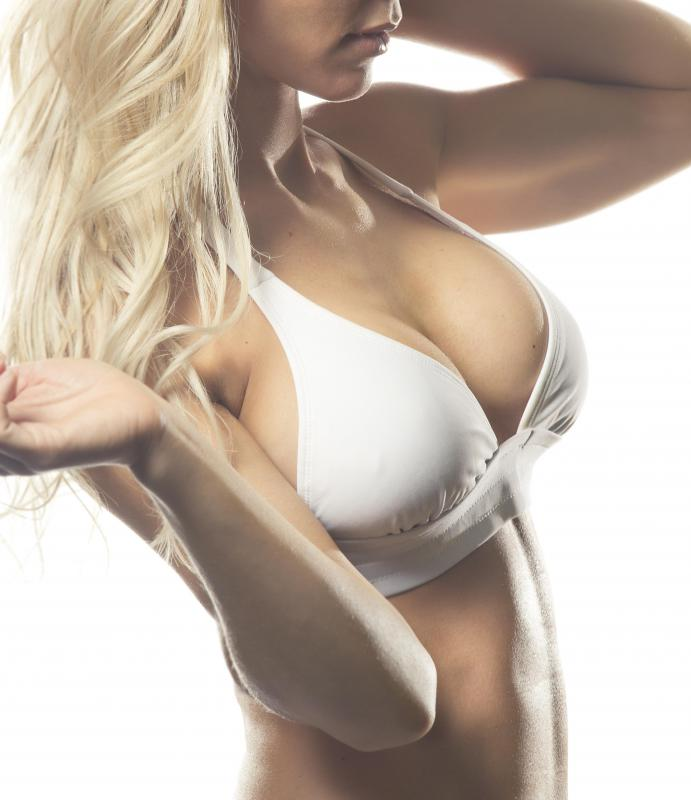 Silicone- or saline-filled implants are used in breast implants.