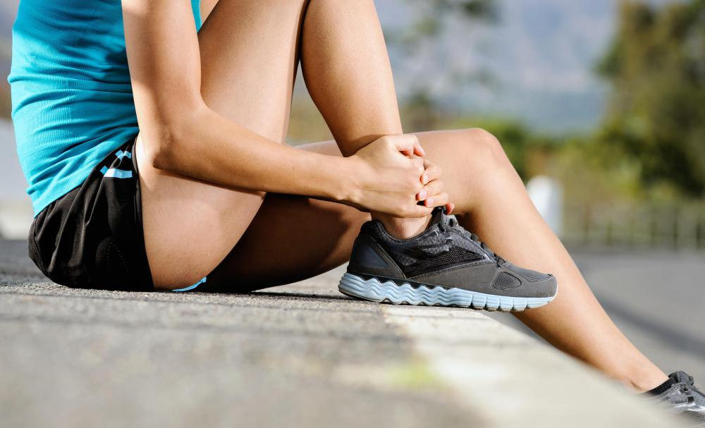 Wearing inadequately supportive shoes may contribute to an abductor muscle injury.