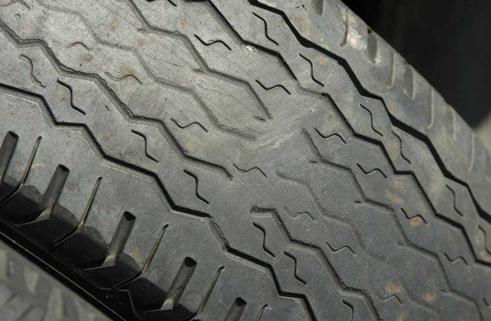 Bald tires are a mechanical failure that can warrant a fix-it ticket.
