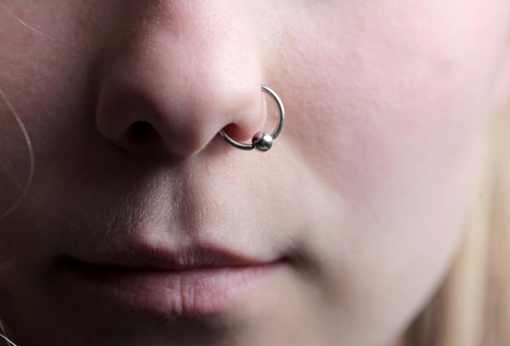 Nose piercings are among the most common facial piercings and are using done through the right or left nostril.