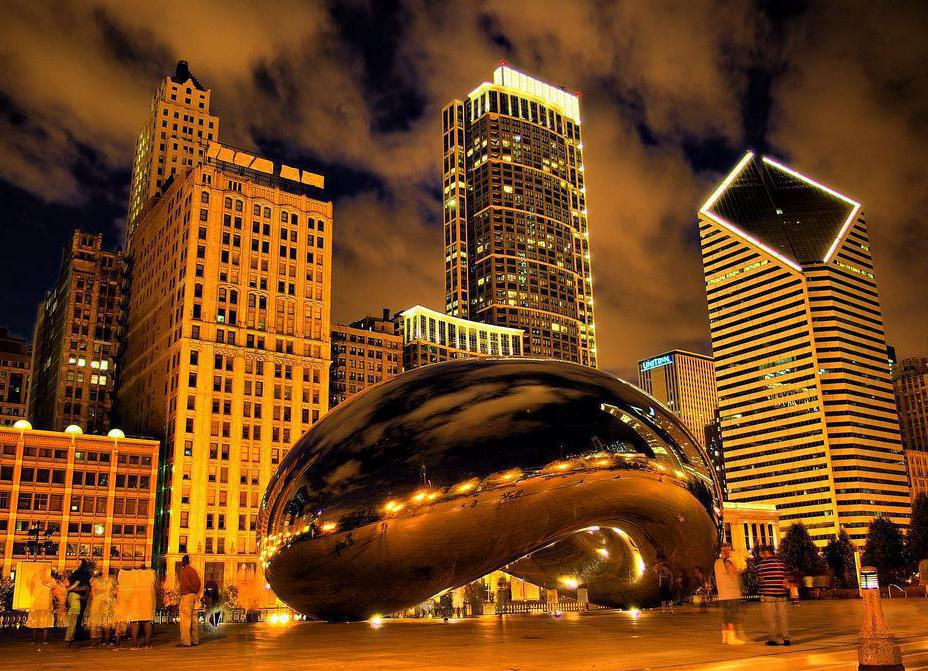 Chicago's skyline and Cloud Gate sculpture are the products of spatial imagination.