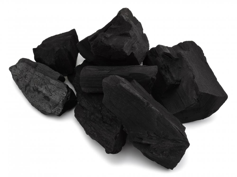 Coal is mined and processed in the coal industry.