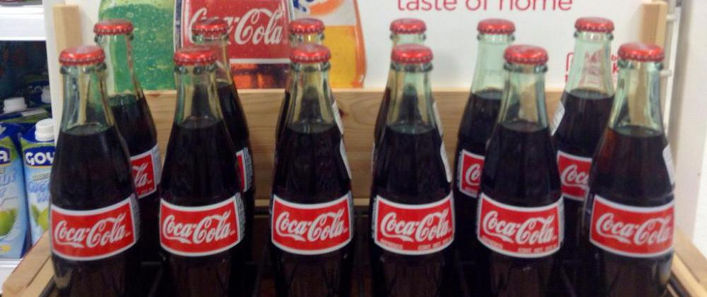 The logo and design of Coca-Cola® bottles have been trademarked by the company.
