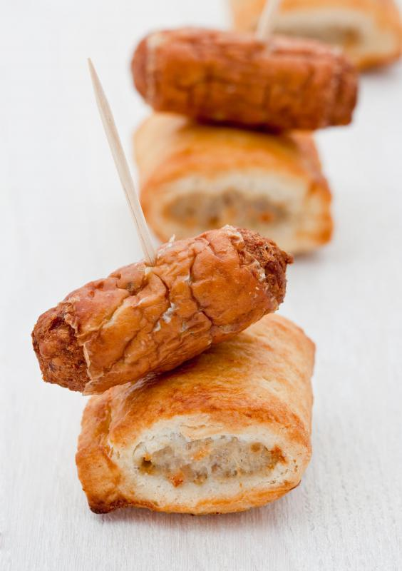 Pastry chefs may need to master savory dishes, like sausage rolls.