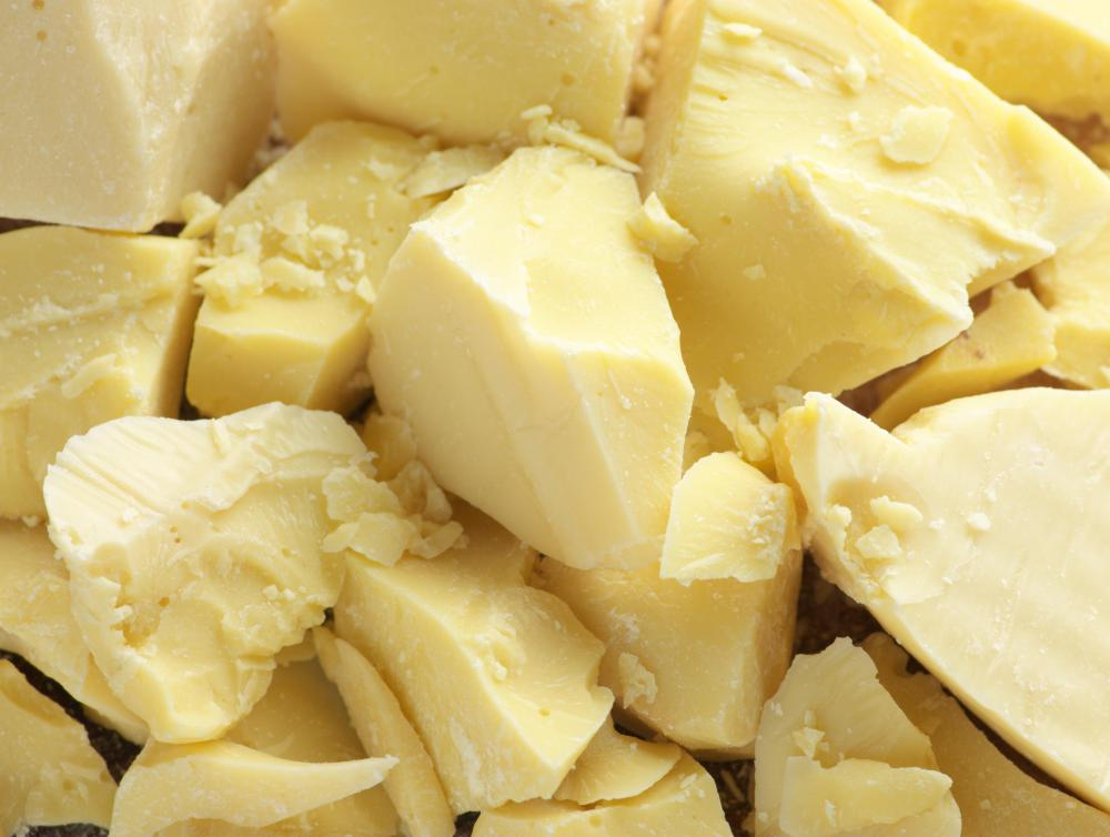 Leave-in cream conditioners often contain cocoa butter.