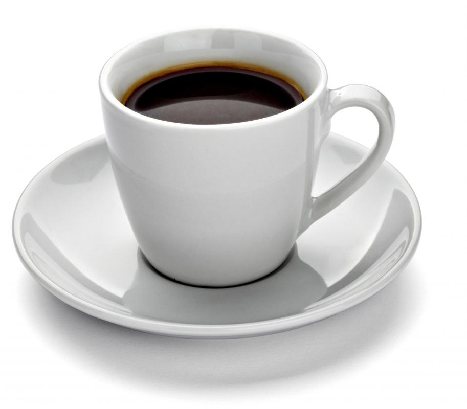 Caffeinated beverages, such as coffee, can cause dry mouth.