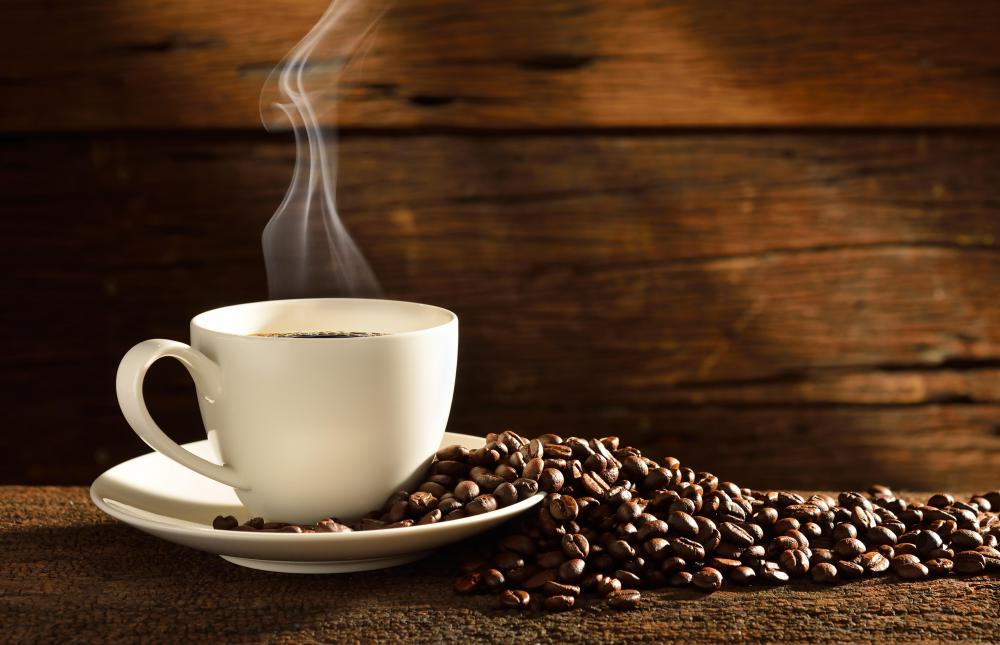 Certain grains may be soaked in coffee over night and served as part of a lactose-free breakfast.