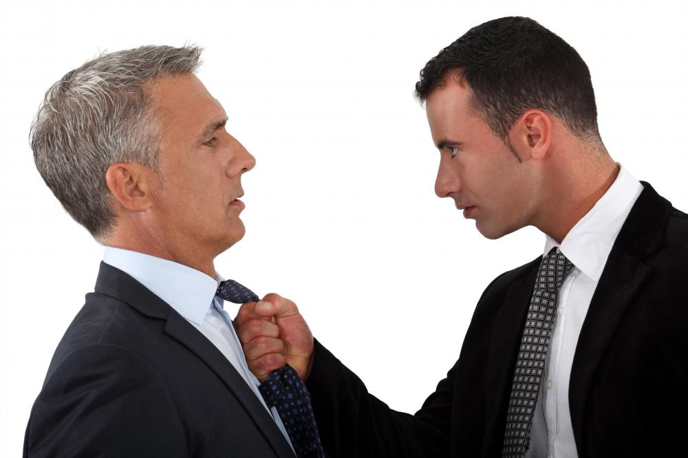 It's often best to bring in a third party to mediate a conflict.