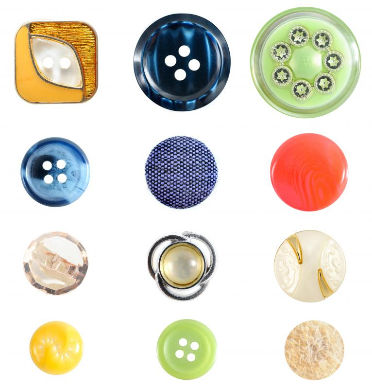 Haberdashers will often carry notions such as buttons.