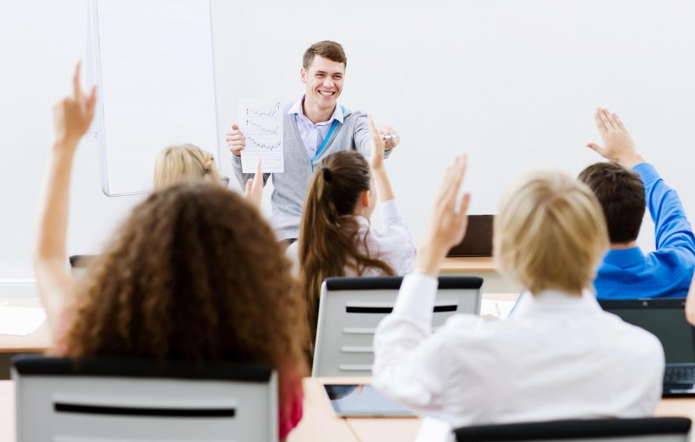 Some professional development courses are lecture-based, while others combine lectures with student presentations.