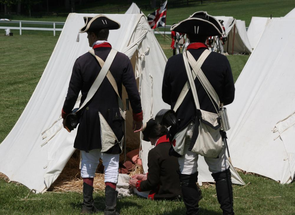 The American Revolutionary War officially ended when the Treaty of Paris was signed.