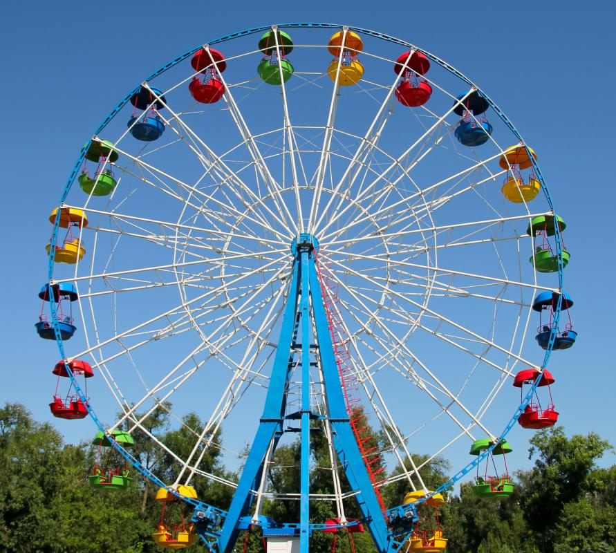 A carny might operate rides, like a Ferris wheel.