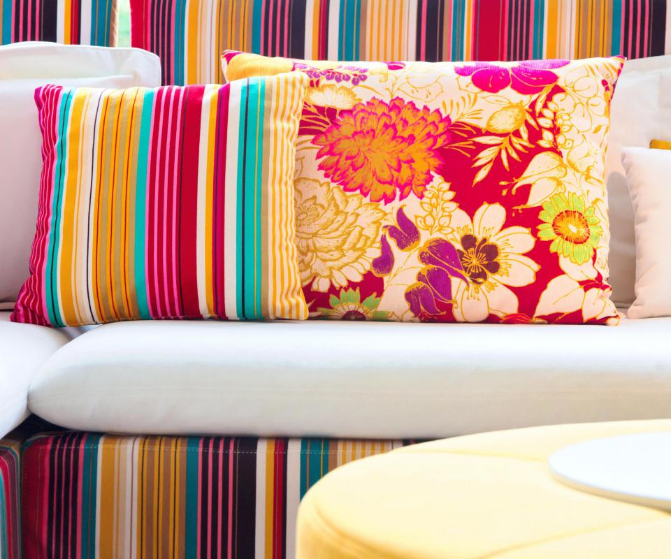 Pillow cases might help accent other pieces of furniture.