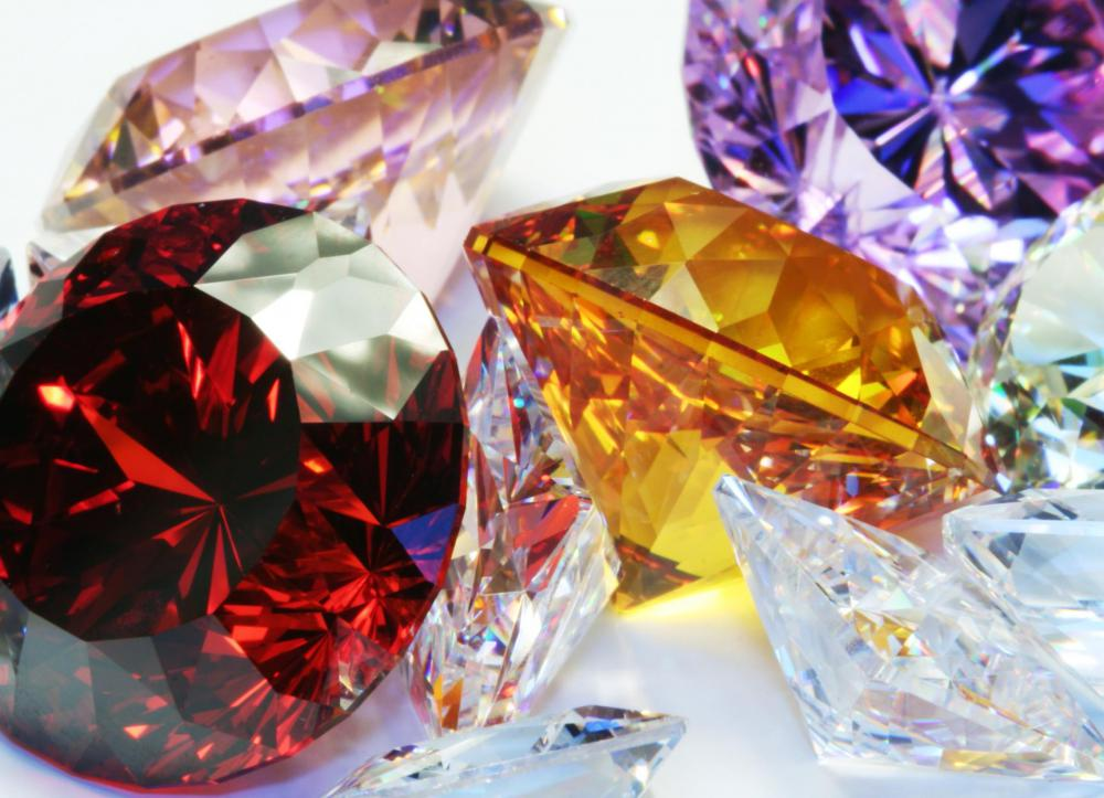 Jewelry, made from beautiful gemstones, is a common Valentine's Day gift.