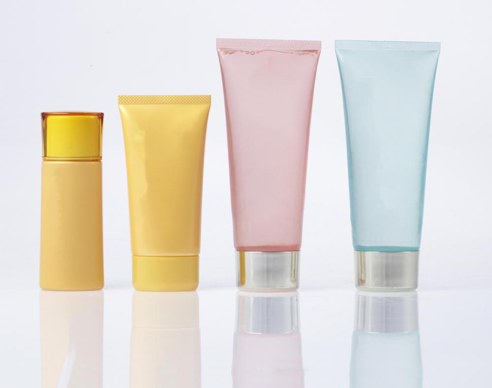 Skin care products are one type of soft good.