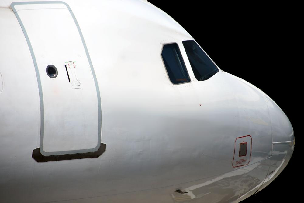 Nose of commercial airplane. & Can You Open an Airplane Door During Flight? (with pictures)