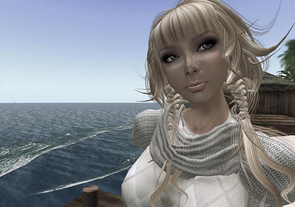 Users are represented by avatars in the Second Life game.