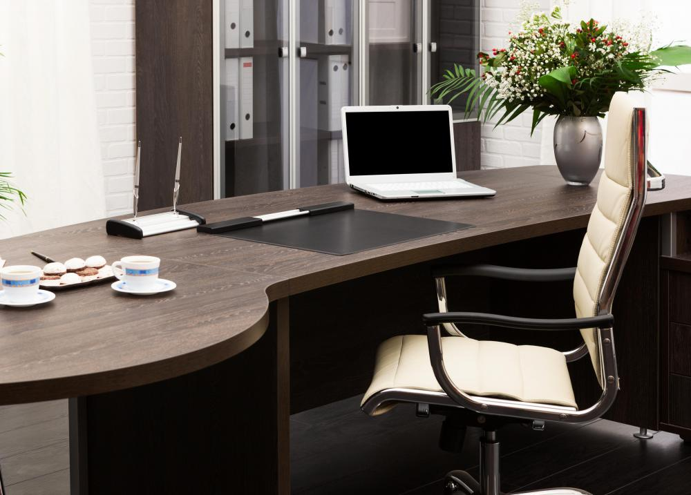 Even an office at home should strive to maintain a professional appearence.