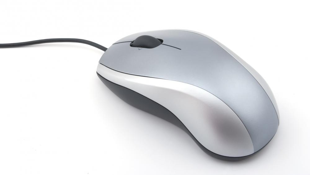 An ergonomic mouse.