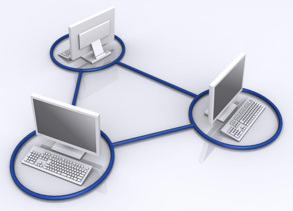 Computer network management involves ensuring reliable data transfer between machines.