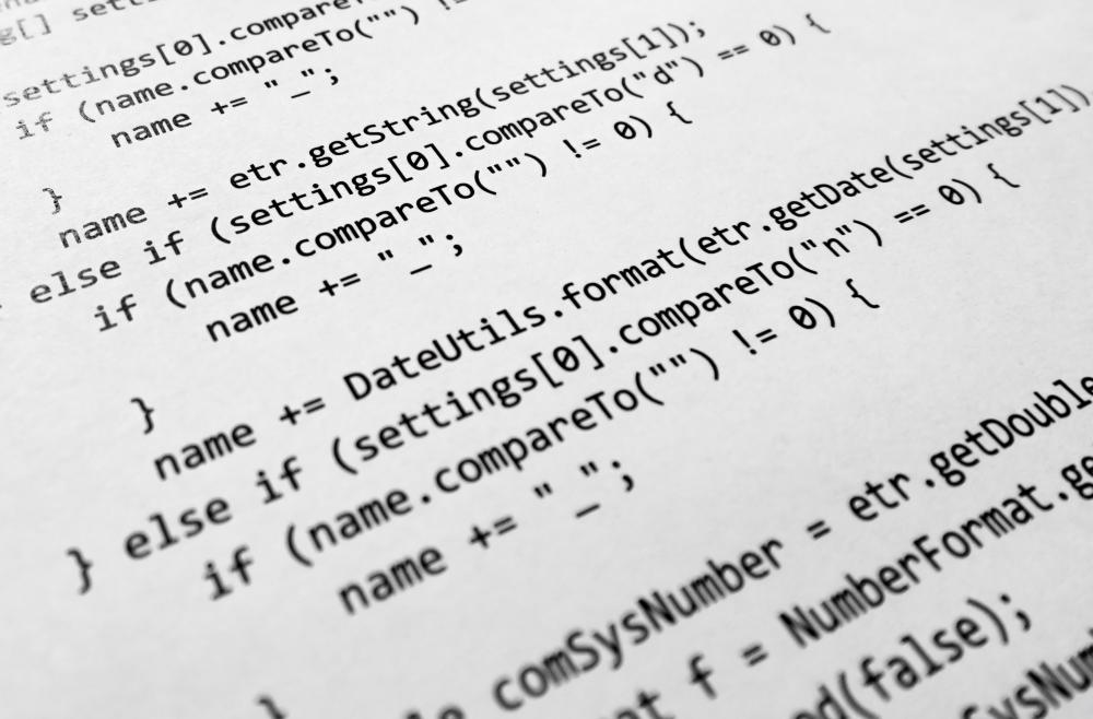 Many developers are skilled in writing coding language that translates algorithms into language that a computer understands.