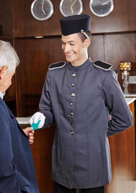 A hotel porter needs to be physically capable of some heavy lifting.