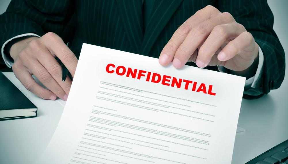 Confidentiality clauses may be written into a new employee's contract.