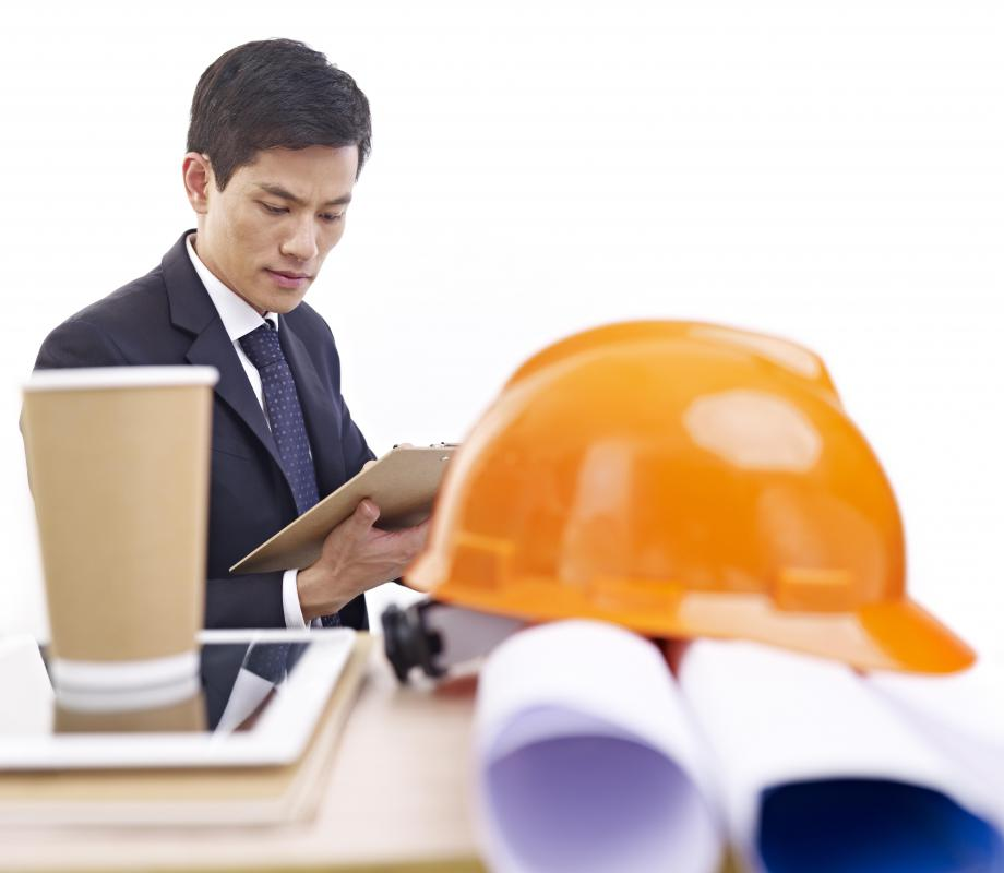 Architectural engineers are construction industry professionals who ensure the feasibility of a building's operating systems as they relate to architectural design.