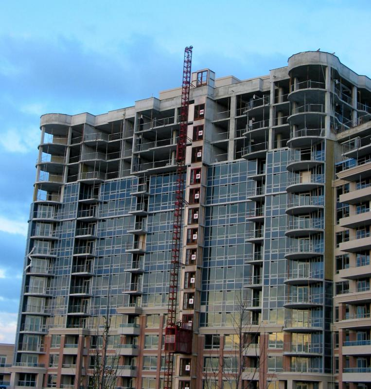 A recession may lead to a halt in the construction of new residential buildings.