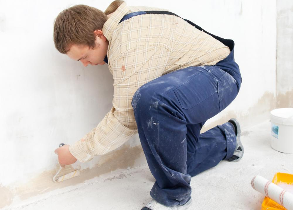 Drywall is made of gypsum, the same material used to make plaster.