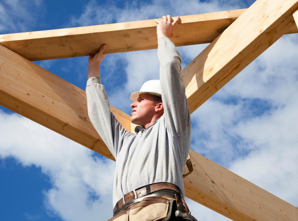 Construction contractors may adjust their fees if the costs of materials change during a project.