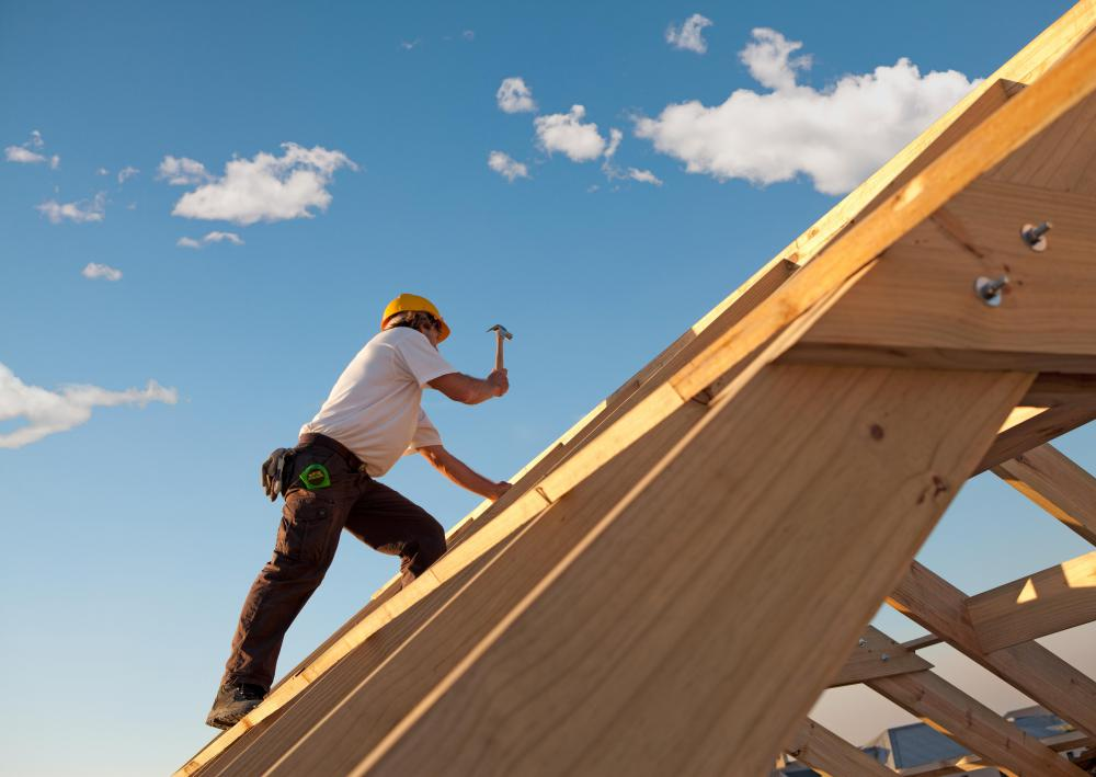 Roofers must be comfortable walking on elevated or slanted surfaces.