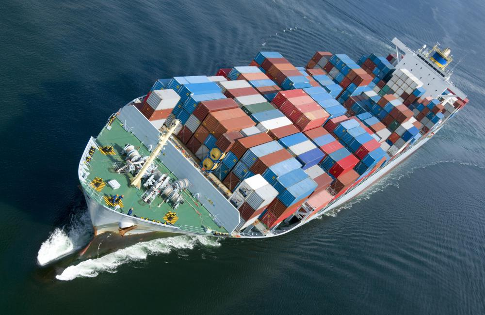 The logistics team may have to deal with importing and exporting contracts for shipping.
