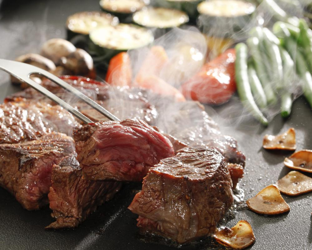 Eating undercooked meat could lead to brucellosis.