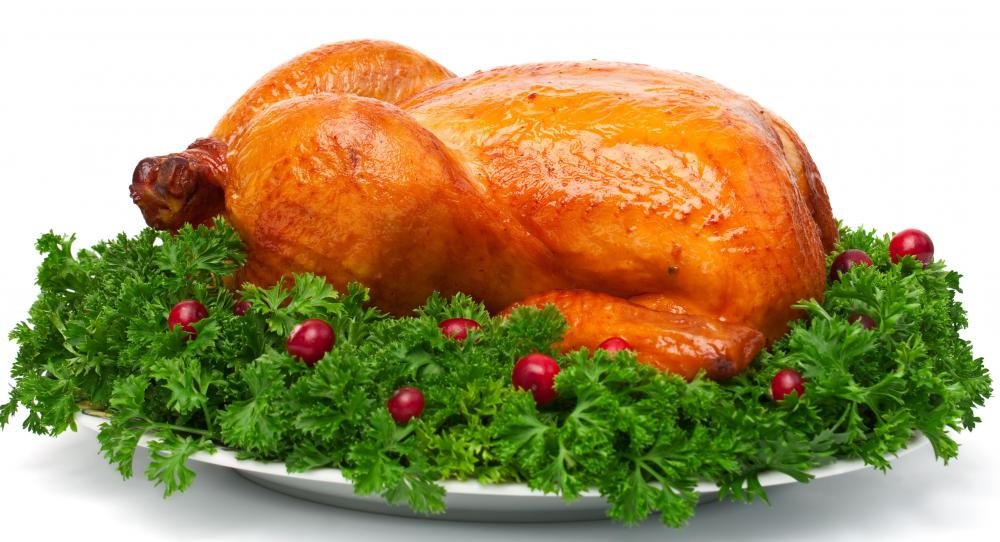 Leftover turkey sitting out is safe to eat within two hours.