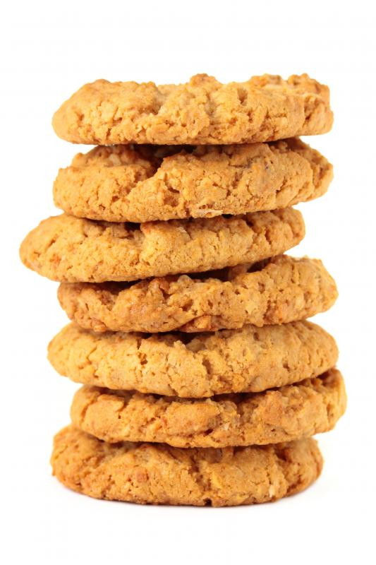 Low-carb peanut butter cookies.