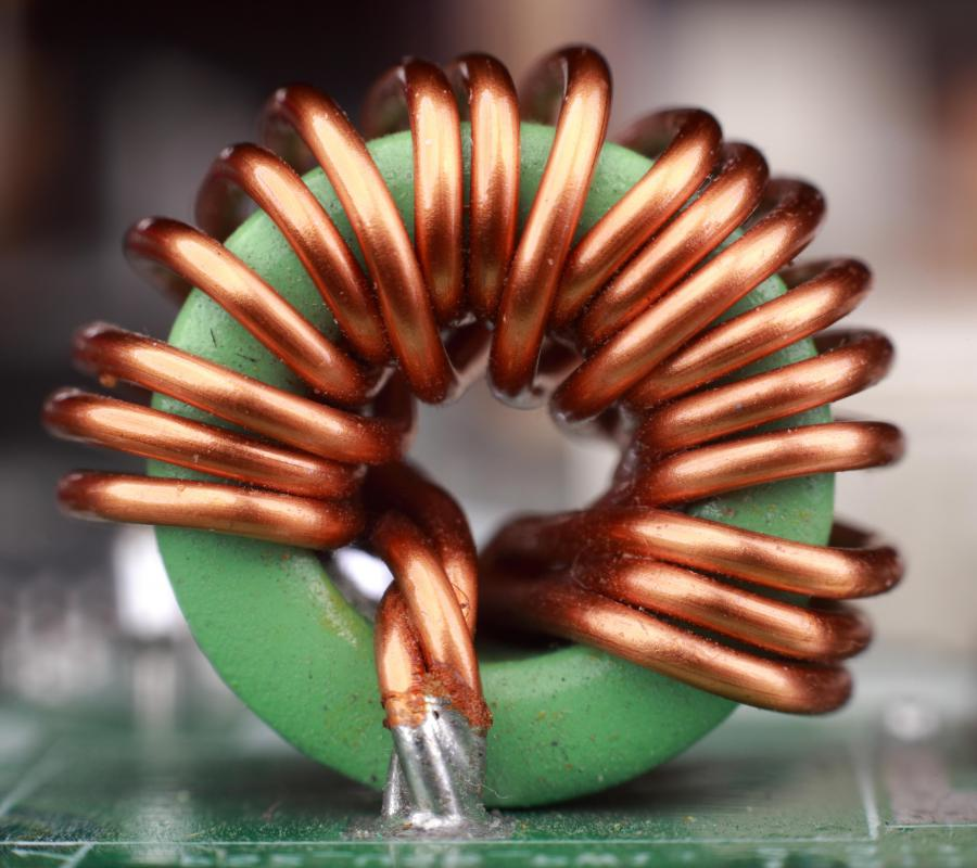 Copper Electrical Wire >> What Is an Inductor Coil? (with picture)
