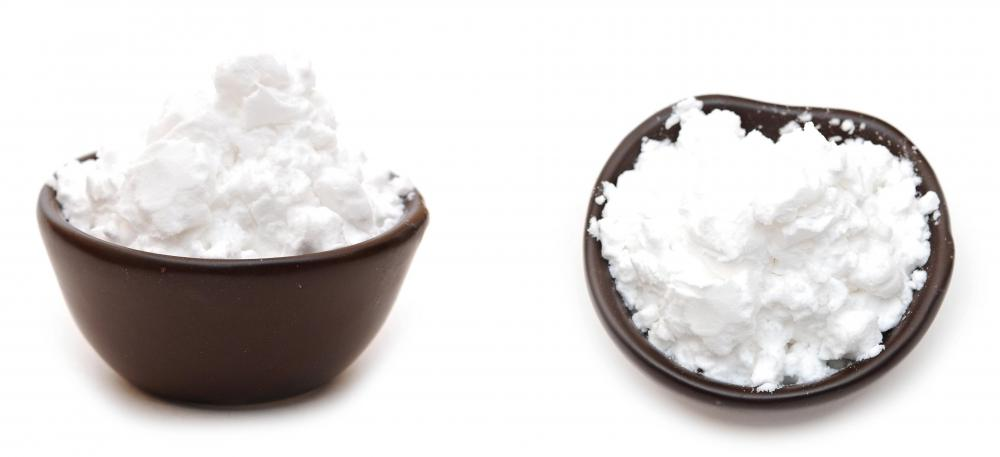 Cornstarch, which can help with skin chafing.