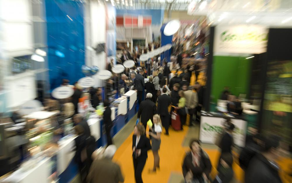 A trade show is an organized meeting held over the course of several days where members of a certain industry demonstrate their products or services.
