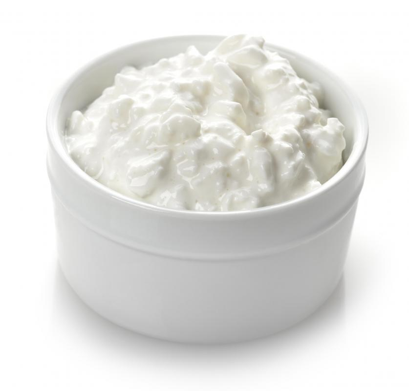 Cottage cheese, among other whole dairy foods, can be high in LDL cholesterol.