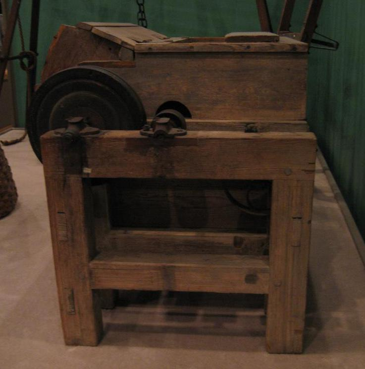 The invention of Eli Whitney's cotton gin helped Alabama to become one of the major cotton-producing states in the country during the 1800s.