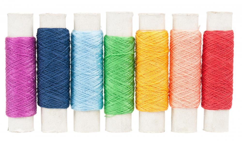 Pearl cotton is a 2-ply, high sheen  thread used in many forms of needlework.