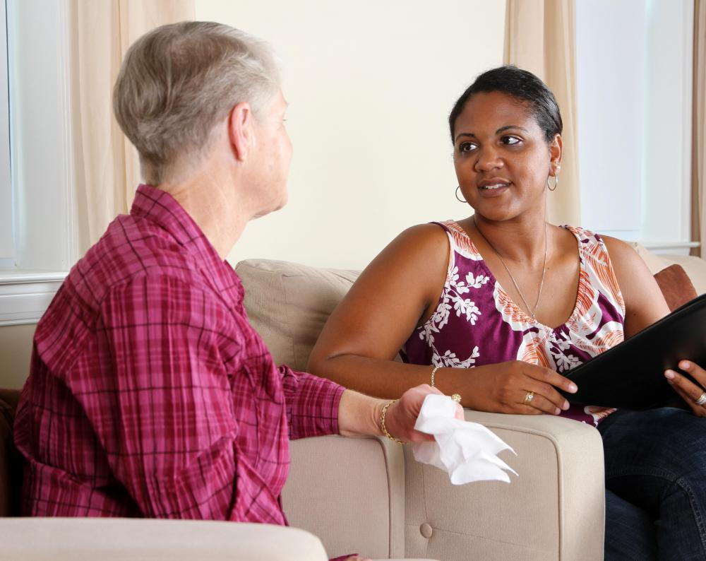 Therapists at community counseling centers often help people cope with family and marital issues.