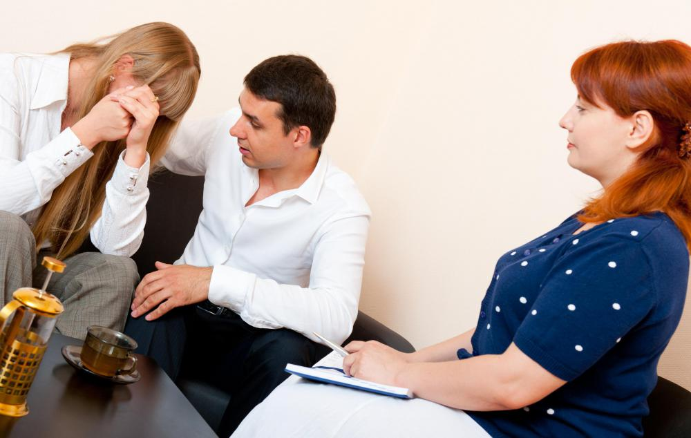 Marriage and family therapists work with couples.