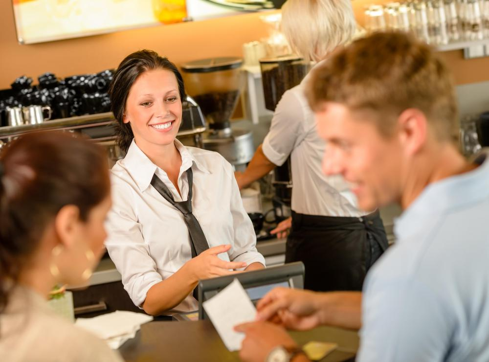 In some cases, the front of house supervisor may work the cash register or serve tables as needed.